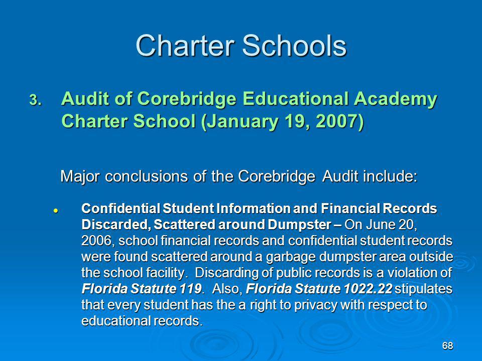 68 Charter Schools 3.
