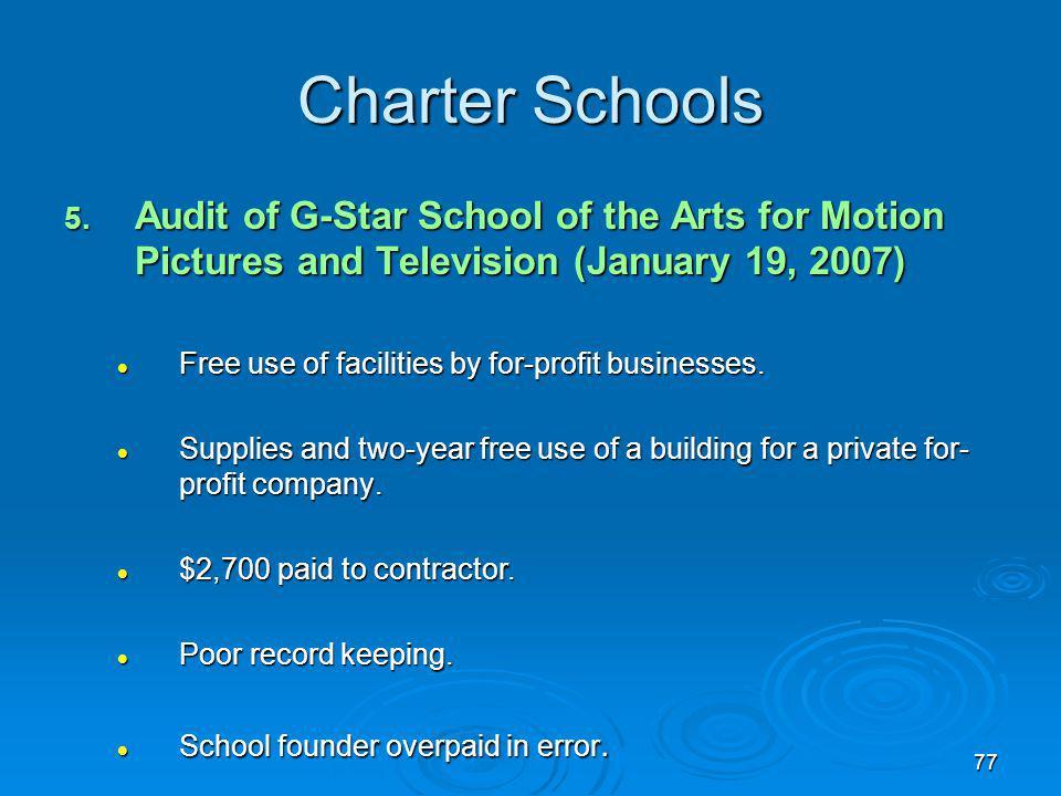 77 Charter Schools 5.