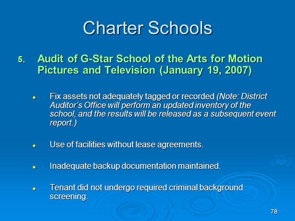 78 Charter Schools 5.