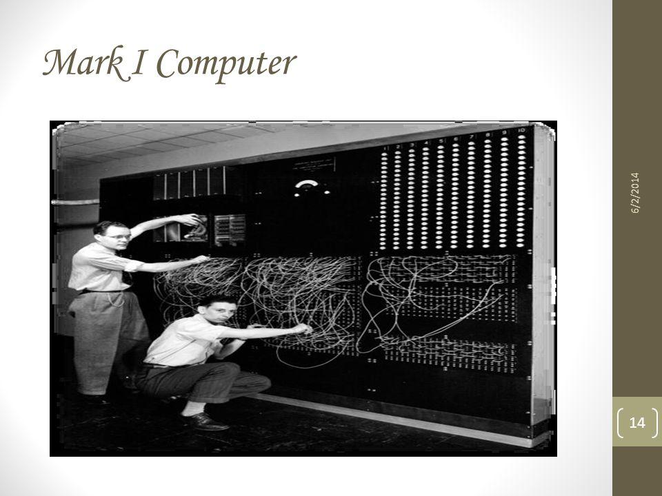 Mark I Computer 6/2/2014 14