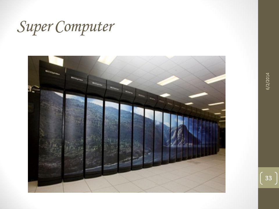 Super Computer 6/2/2014 33
