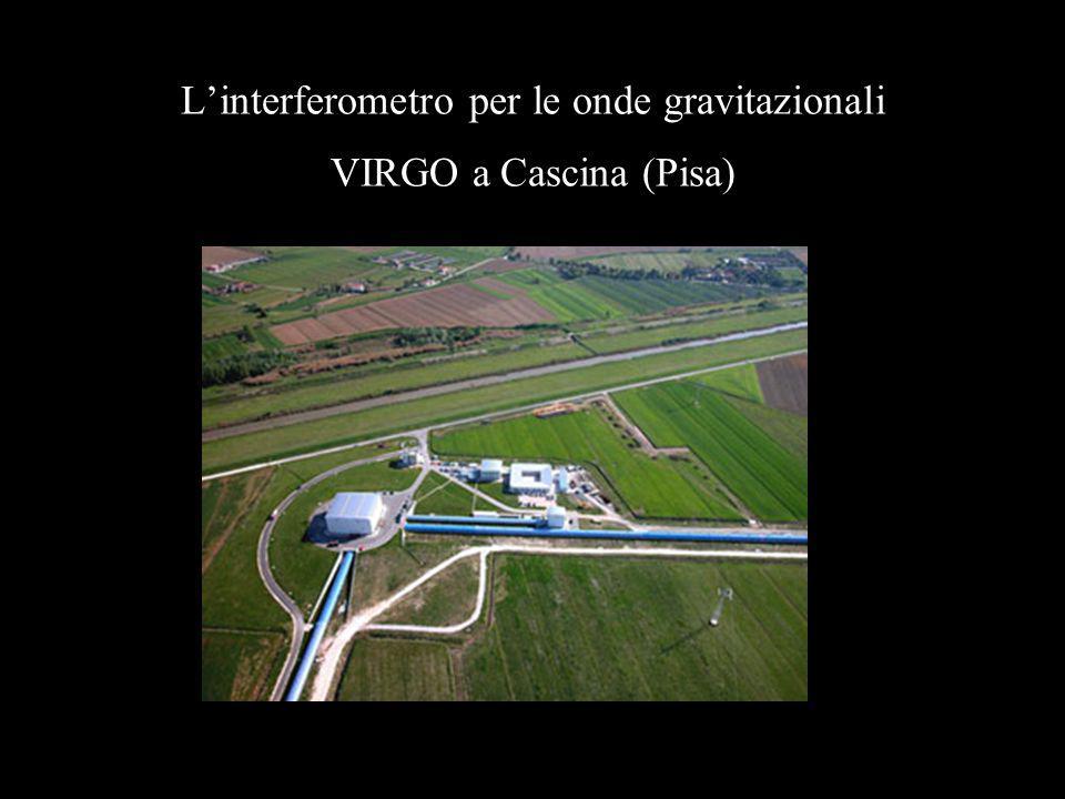 Linterferometro per le onde gravitazionali VIRGO a Cascina (Pisa)