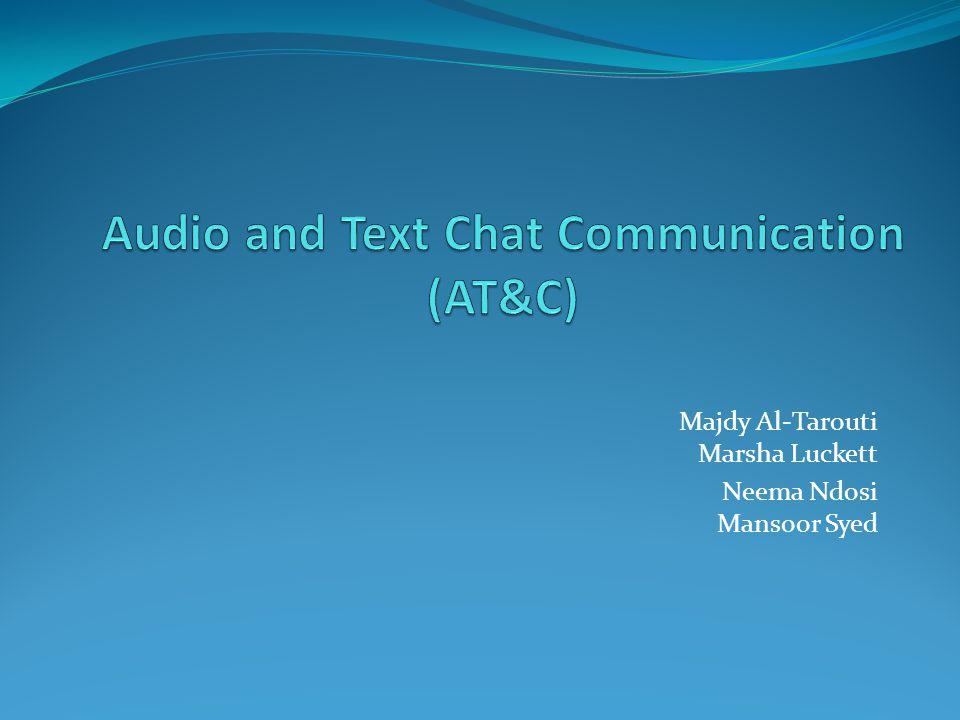 Majdy Al-Tarouti Marsha Luckett Neema Ndosi Mansoor Syed