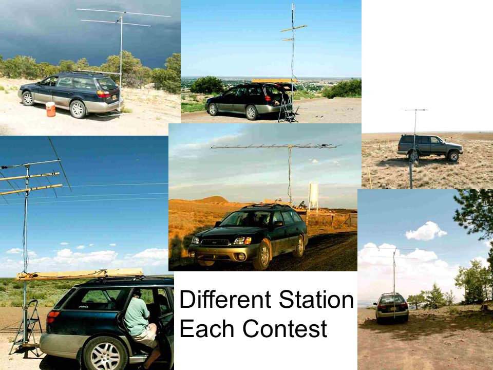 7 Different Station Each Contest