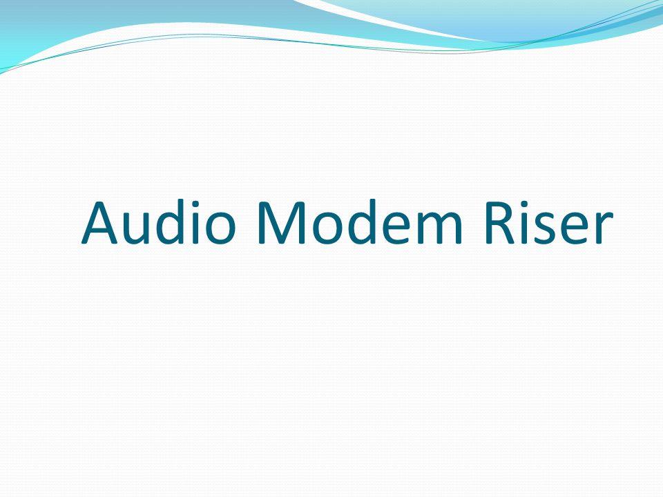 Audio Modem Riser