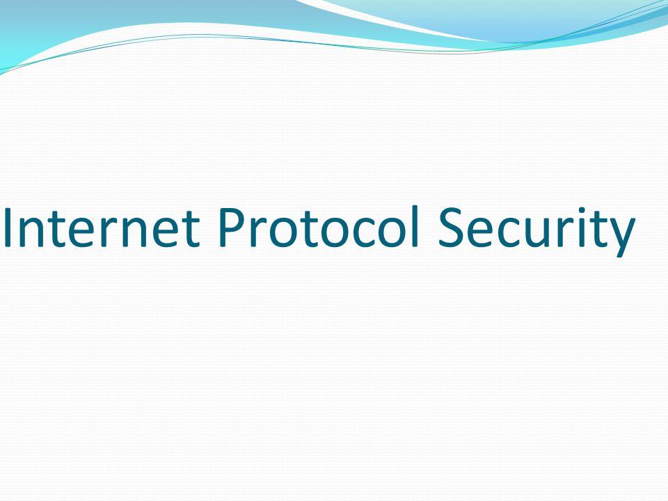 Internet Protocol Security