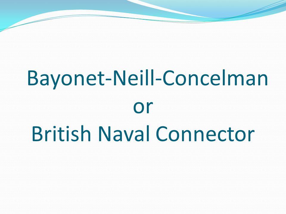 Bayonet-Neill-Concelman or British Naval Connector