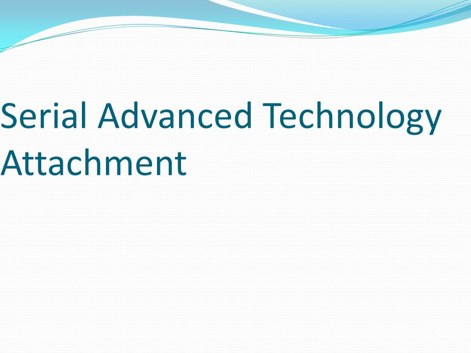 Serial Advanced Technology Attachment