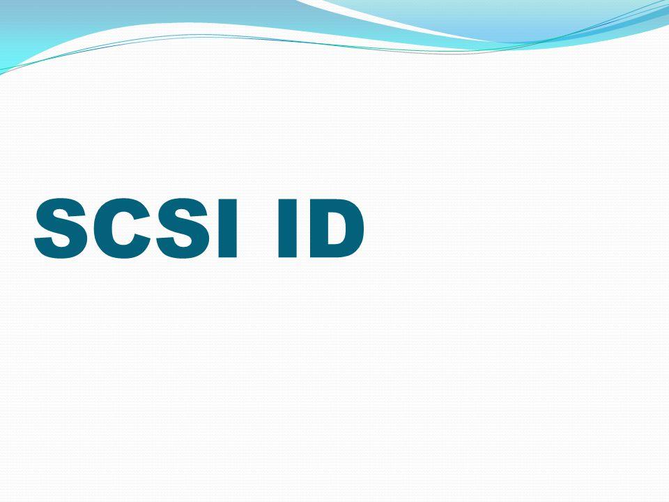 SCSI ID
