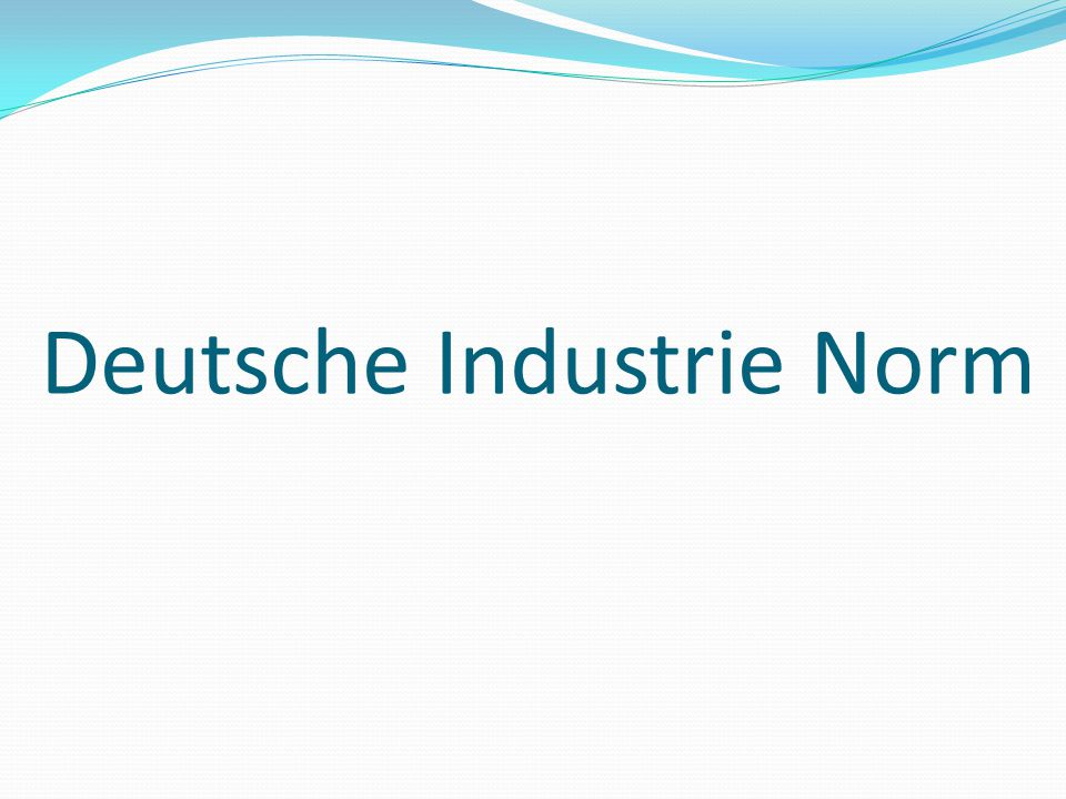 Deutsche Industrie Norm