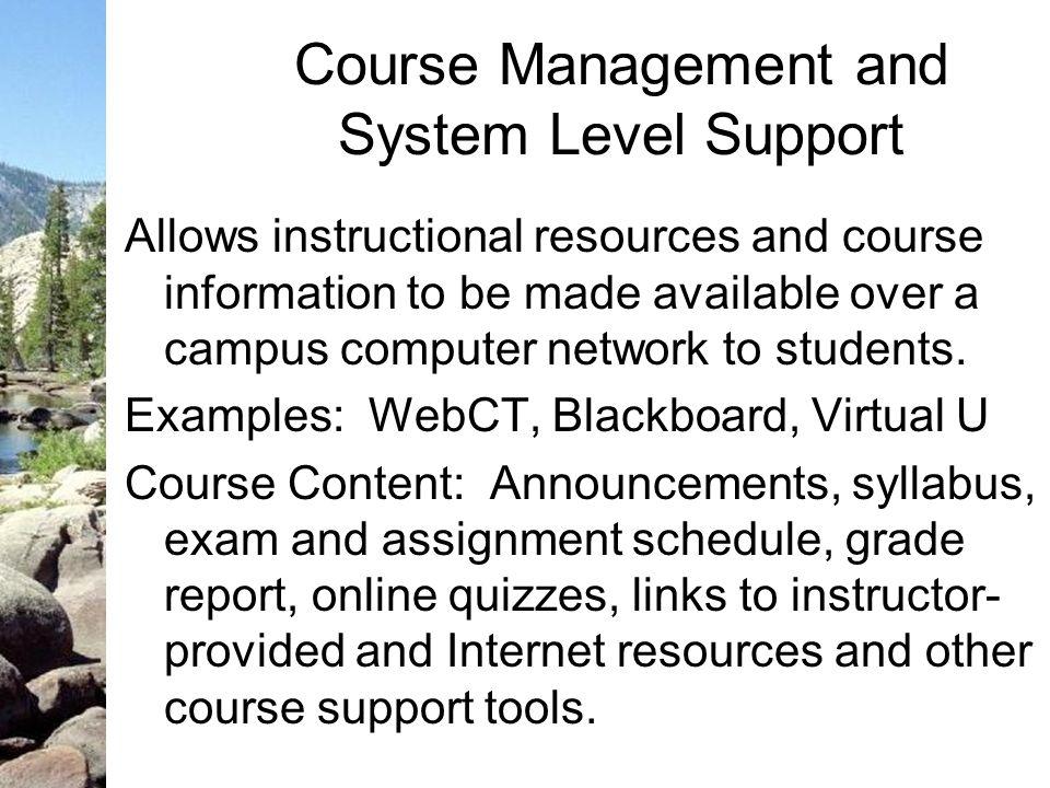 WebCT at DSU
