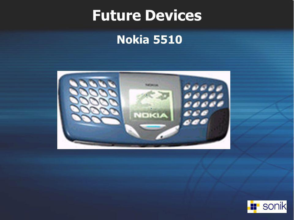 Future Devices Nokia 5510