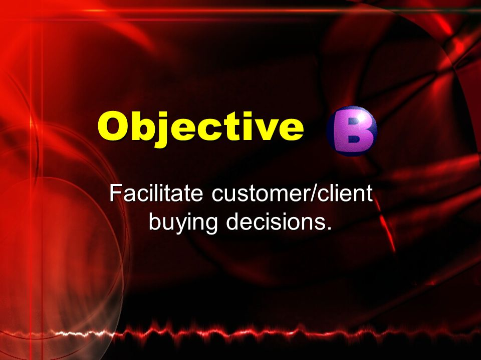 Types of Customer Buying Decisions Time decision: When should I buy?Time decision: When should I buy? Reasons for customer delay often include: Reason