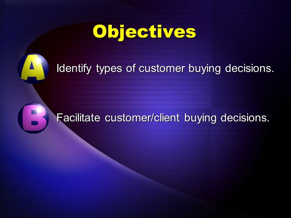 Selling LAP 108 Decisions, Decisions, Decisions