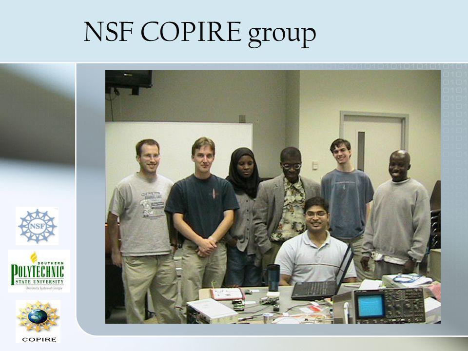 NSF COPIRE group
