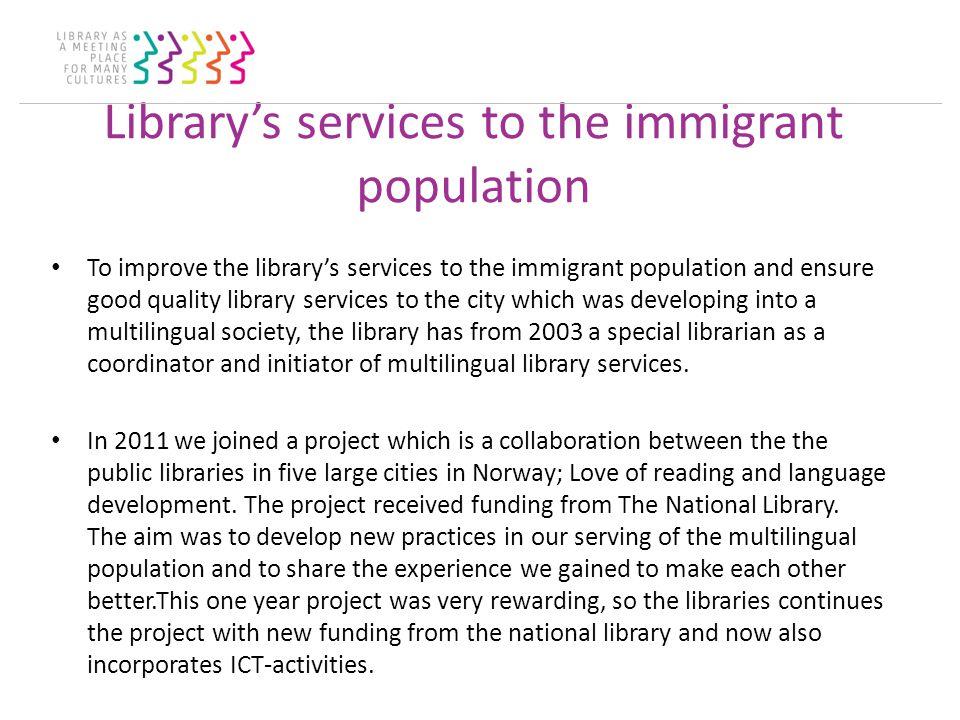 Project Love of Reading, Language development and ICT Language Café