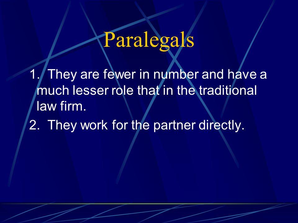 Paralegals 1.