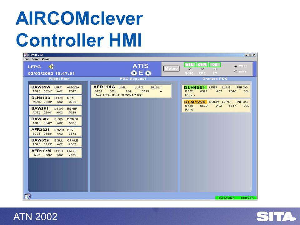ATN 2002 AIRCOMclever Controller HMI