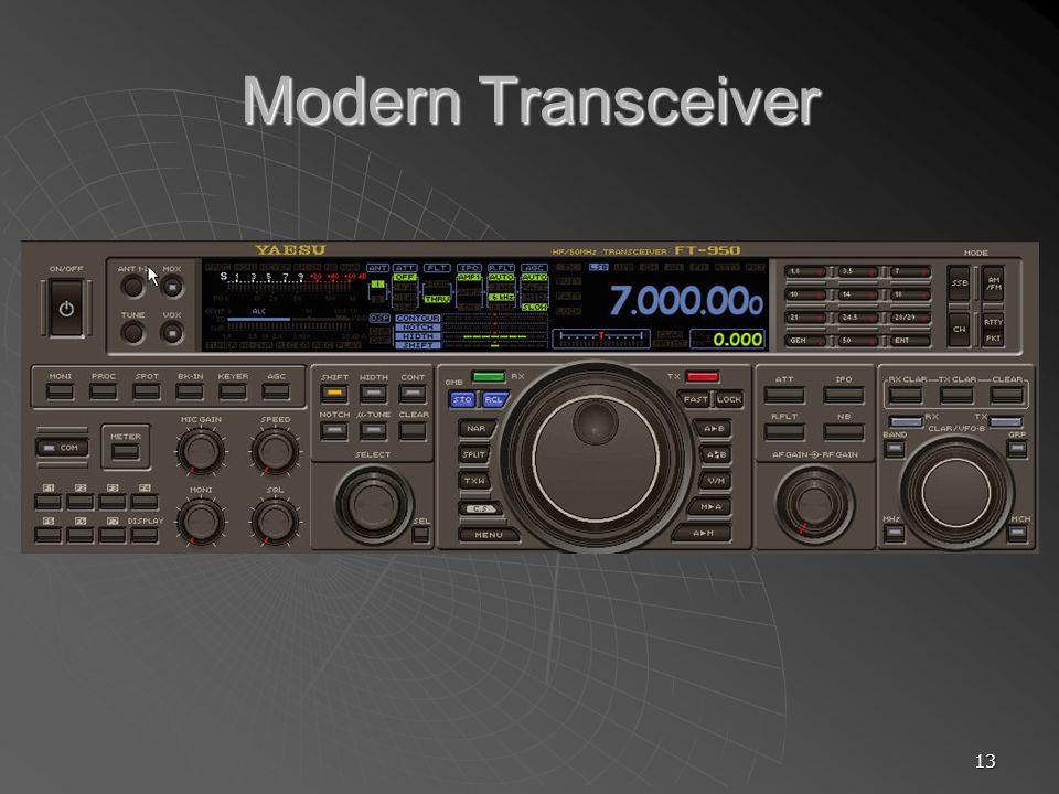 13 Modern Transceiver