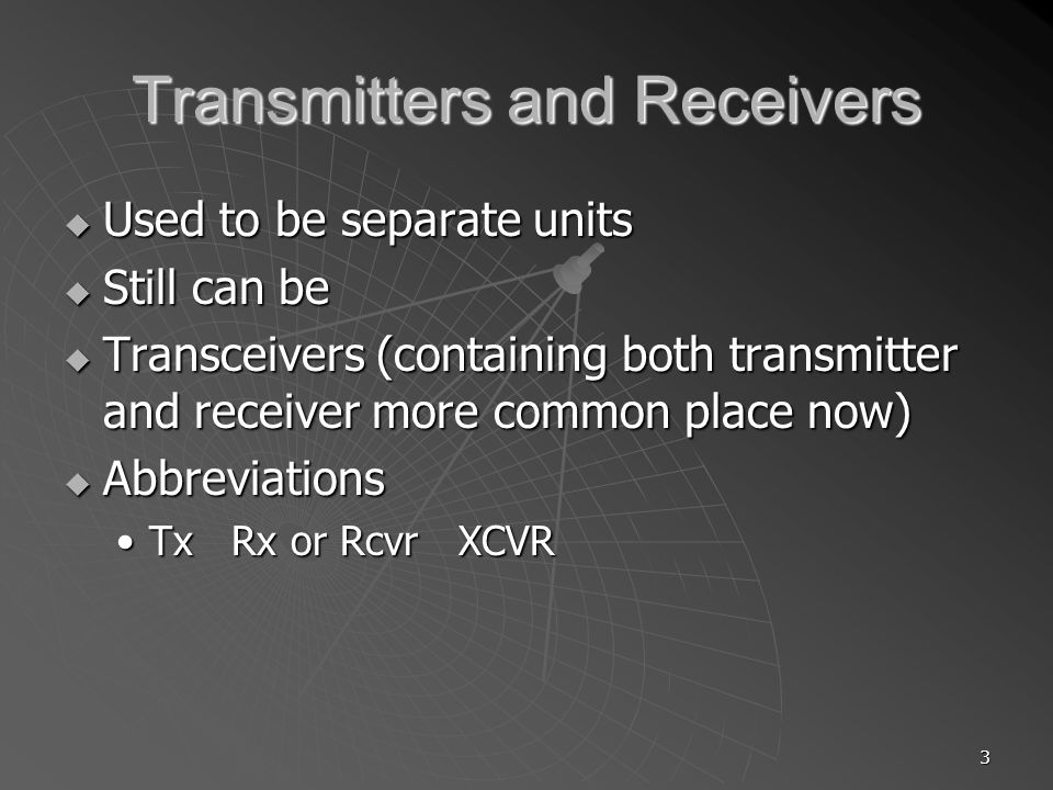 44 T4A11 Where should a mobile transceivers power negative connection be made.