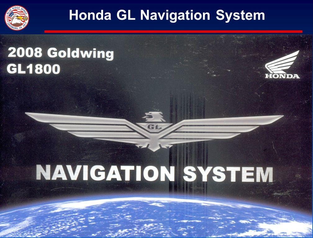 47 Honda GL Navigation System