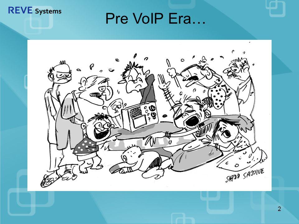 2 Pre VoIP Era…