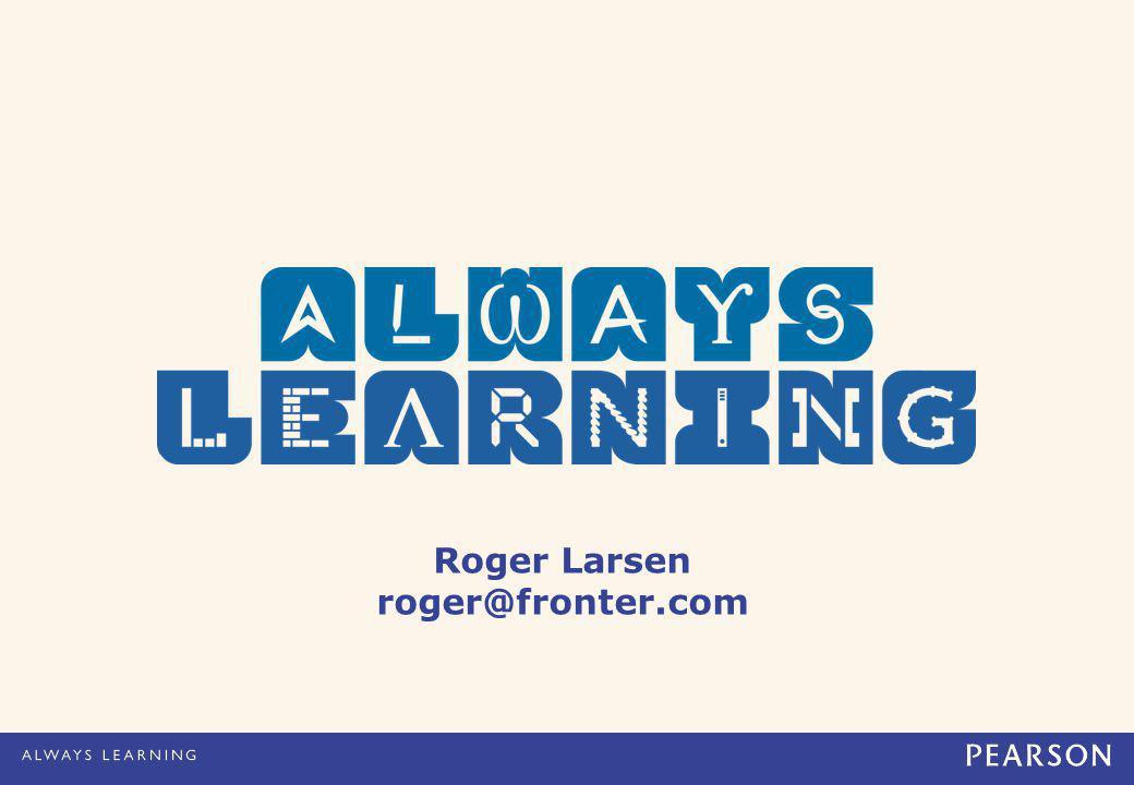 Roger Larsen roger@fronter.com