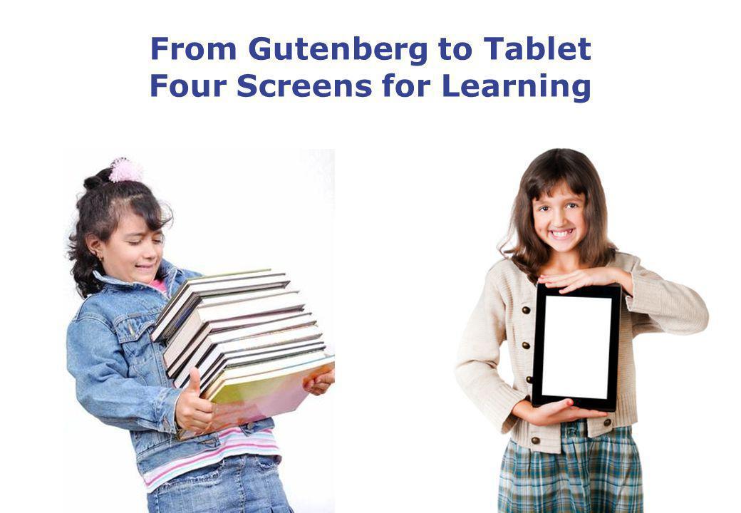 Development within Education 500 Years Gutenberg Enlightment period Industrial revolution