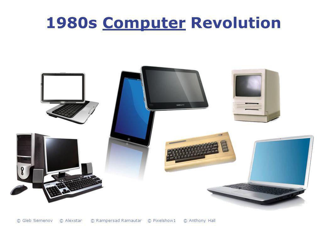 1980s Computer Revolution © Pixelshow1© Anthony Hall© Alexstar© Rampersad Ramautar© Gleb Semenov