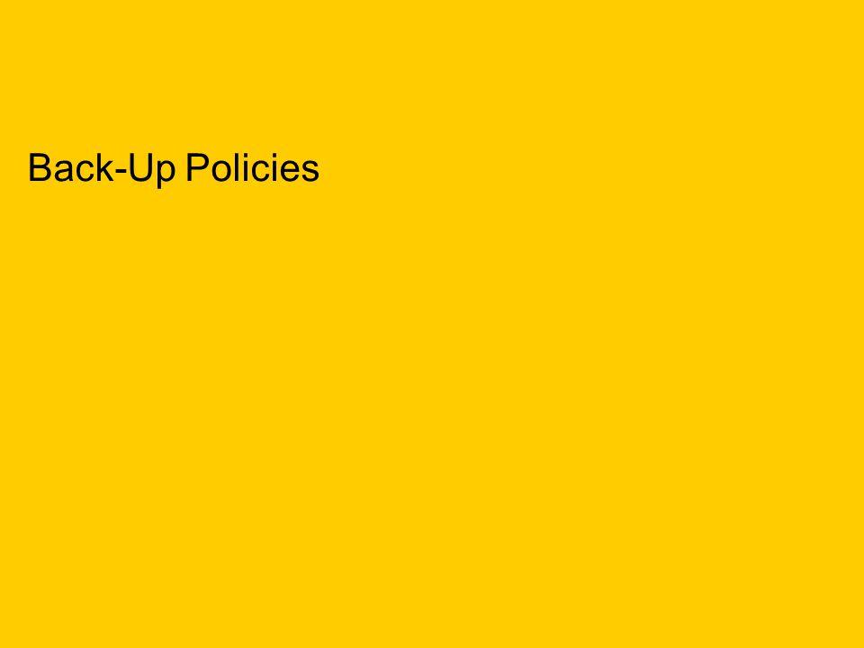 TNS mrbi/136941/Law Society IT Survey/February 2006 18 Back-Up Policies