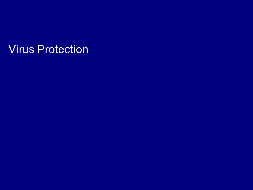 TNS mrbi/136941/Law Society IT Survey/February 2006 20 Virus Protection