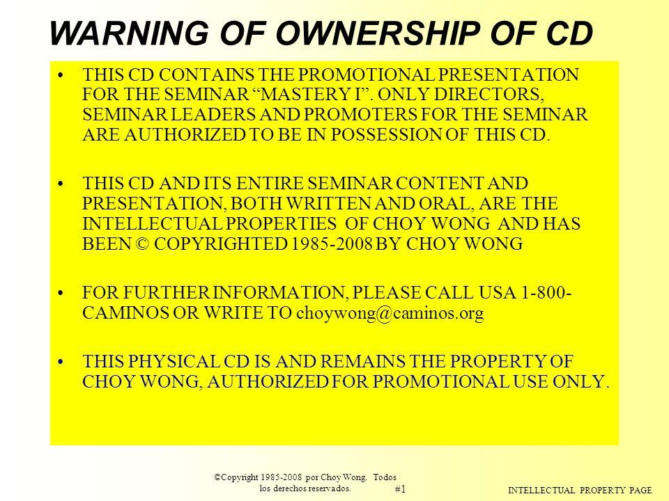 ©Copyright 1985-2008 por Choy Wong. Todos los derechos reservados.