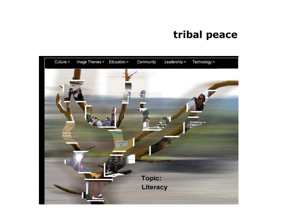 tribal peace: precontact