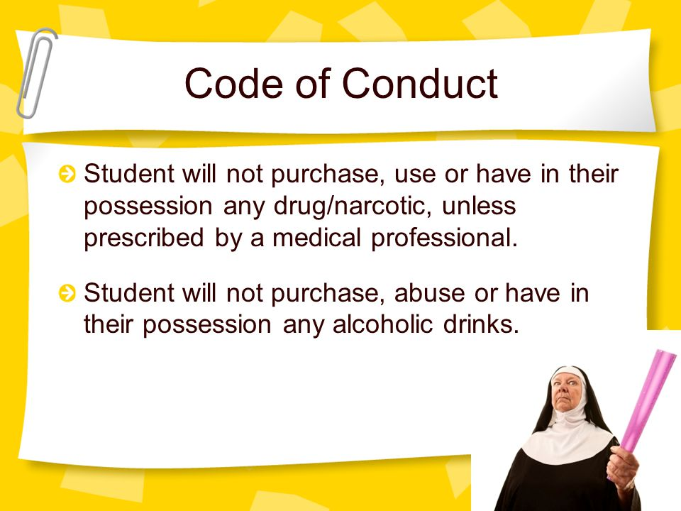 Code of Conduct Student will participate in activities with their French hosts. Student will be mature & courteous. Student will obey family/school ru