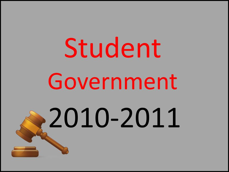 Student Government 2010-2011