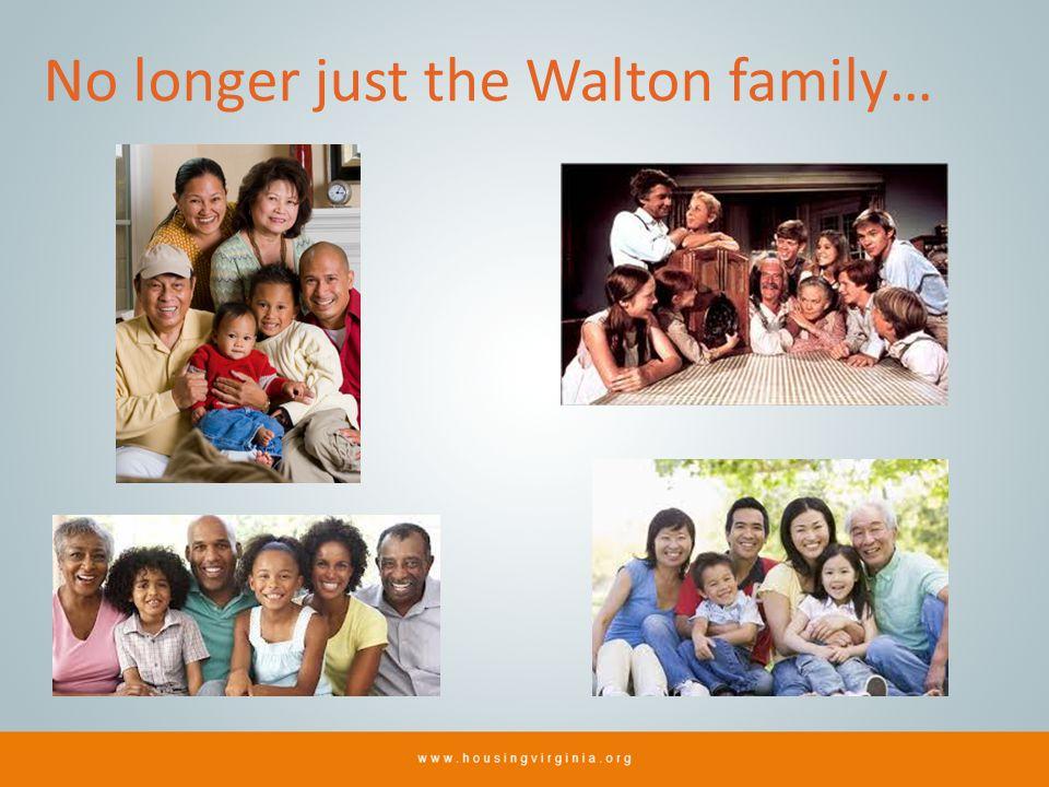 No longer just the Walton family…