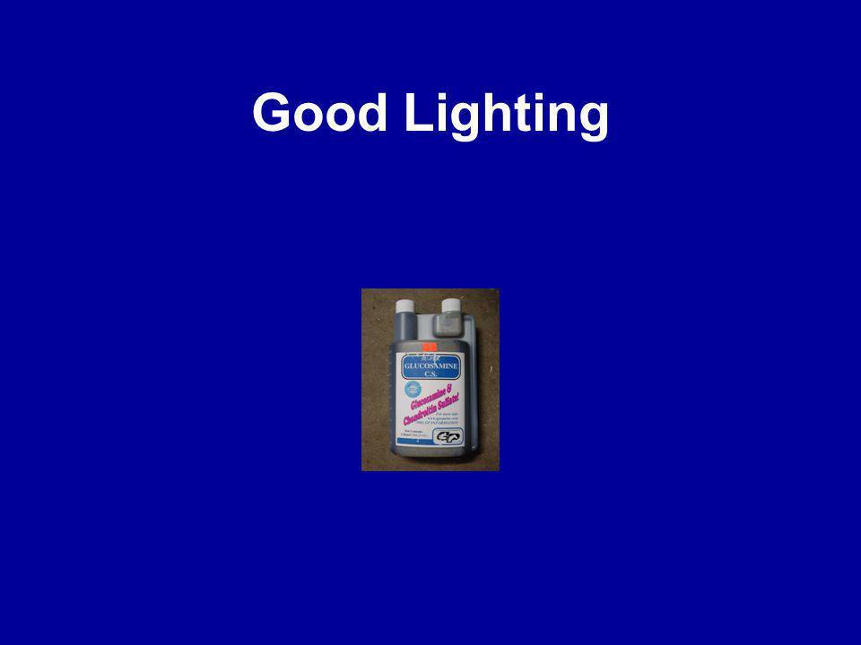 Good Lighting
