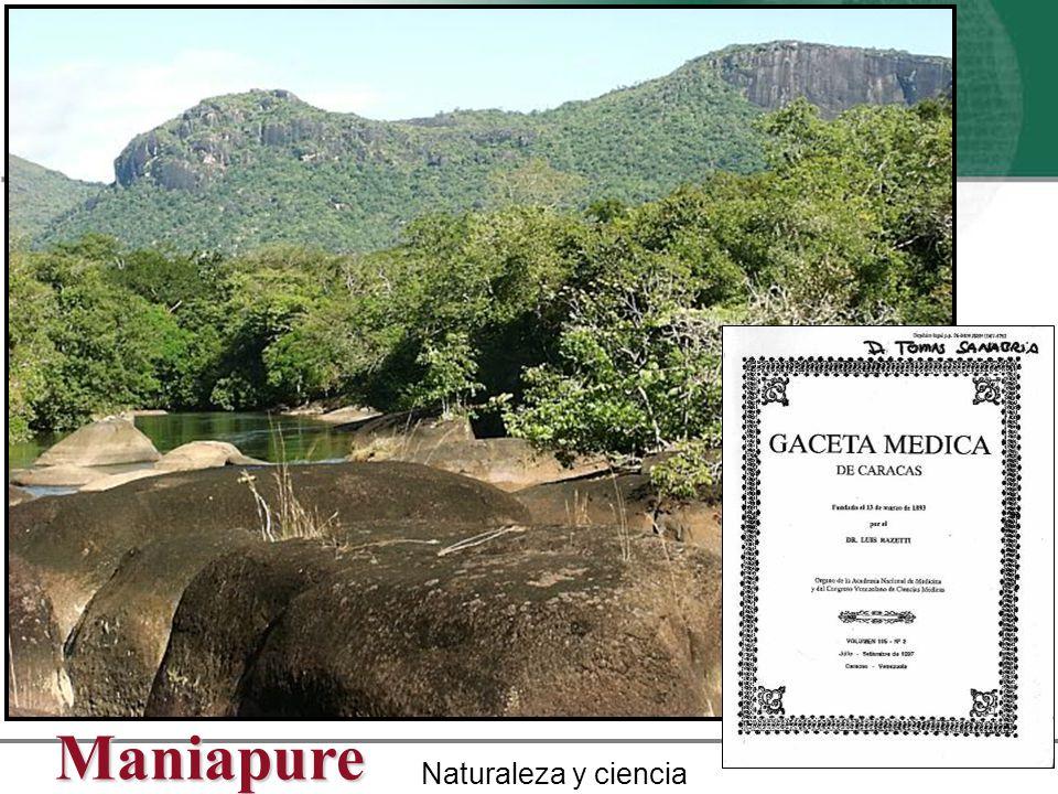 Maniapure Naturaleza y ciencia