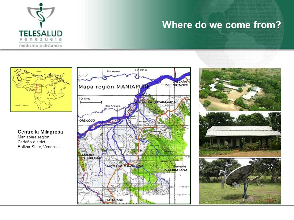 Centro la Milagrosa Maniapure region Cedeño district Bolívar State, Venezuela