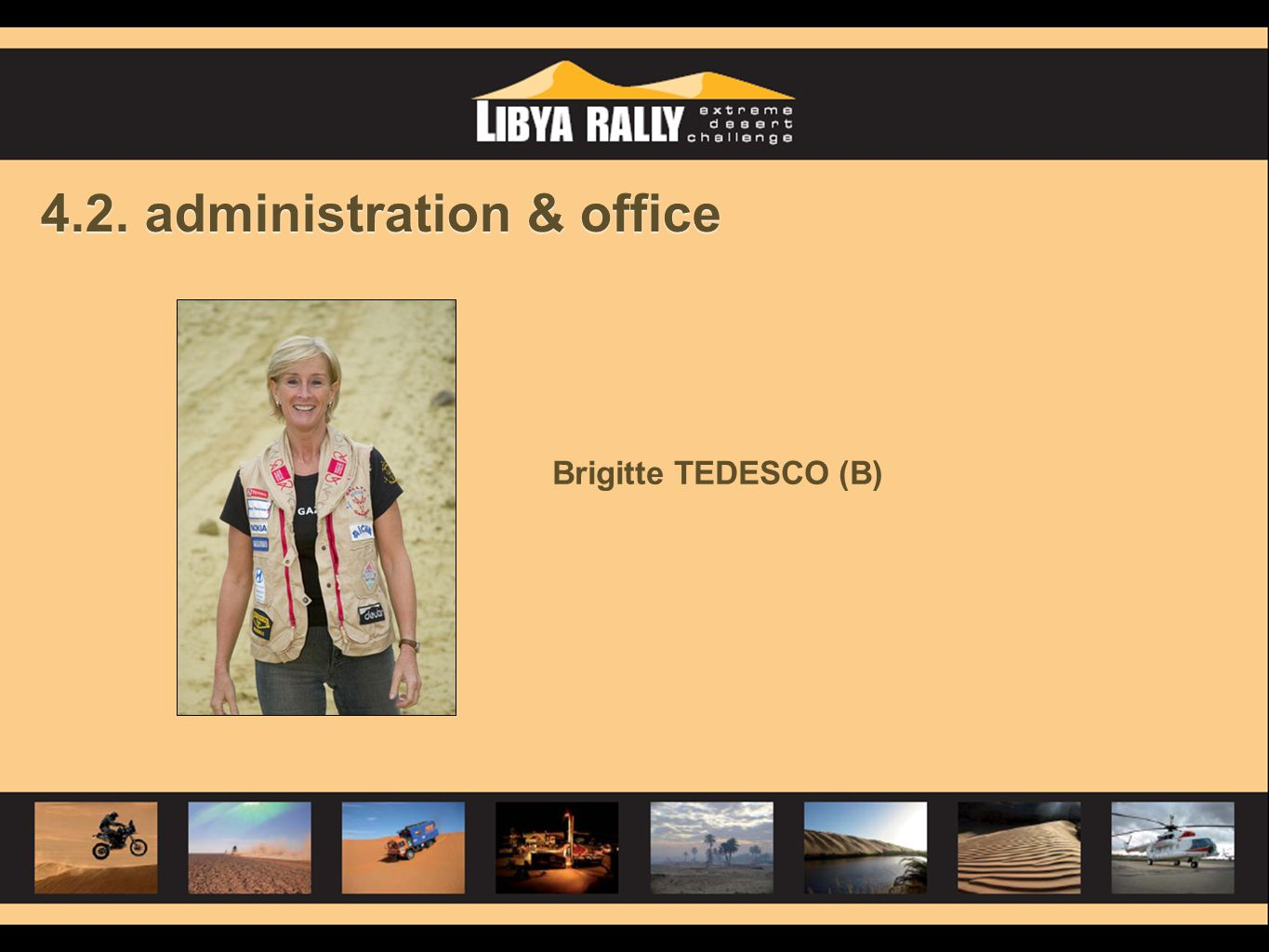 4.2. administration & office Brigitte TEDESCO (B)