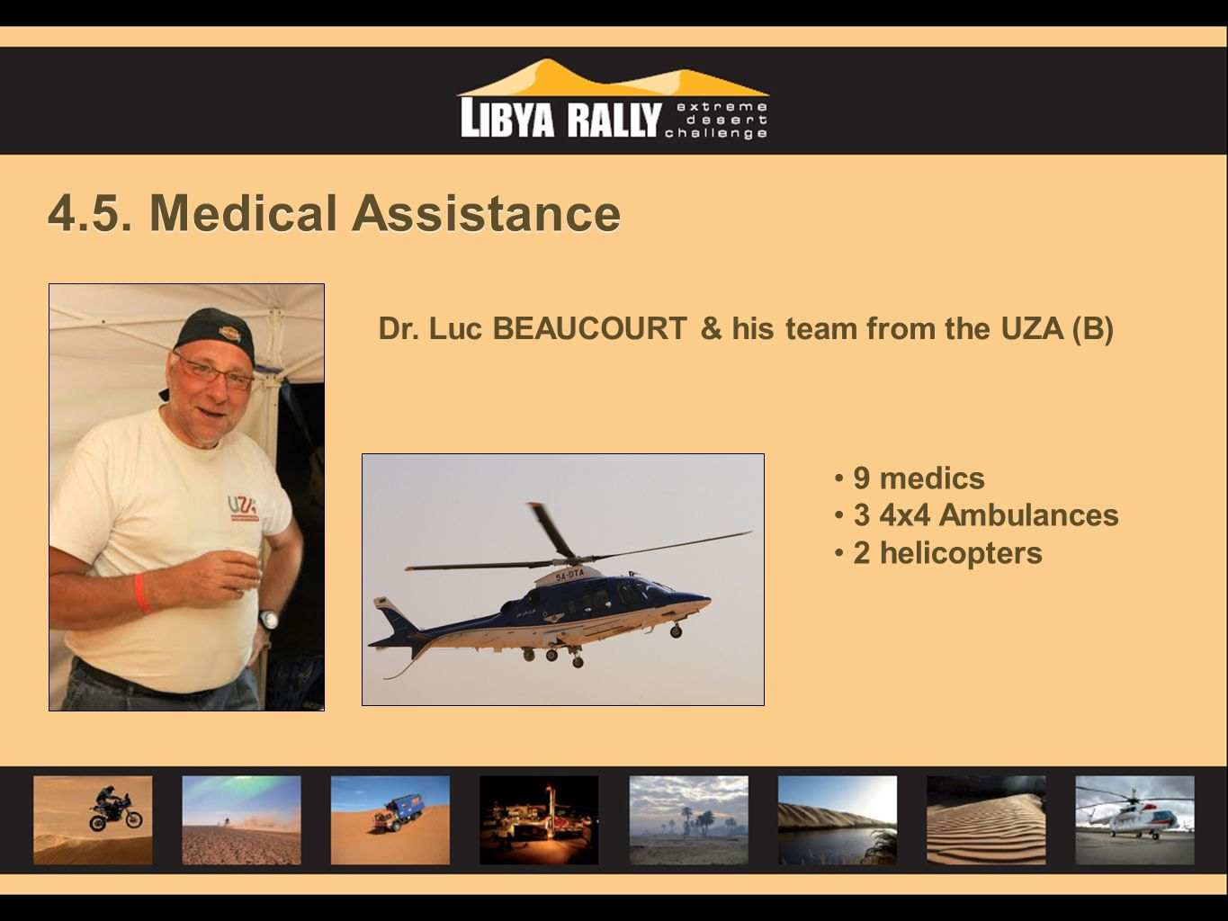 4.5. Medical Assistance Dr.
