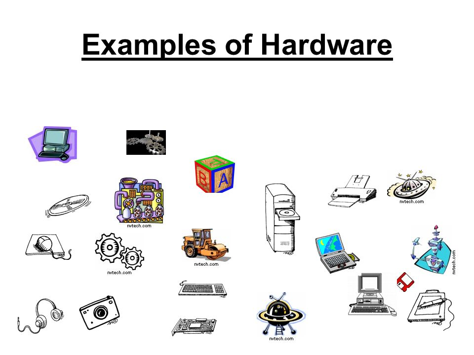 DEFINITION Hardware Vs. Software If you can touch it, its hardware