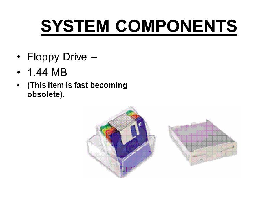 SYSTEM COMPONENTS Audio Card This is the voice of your system).