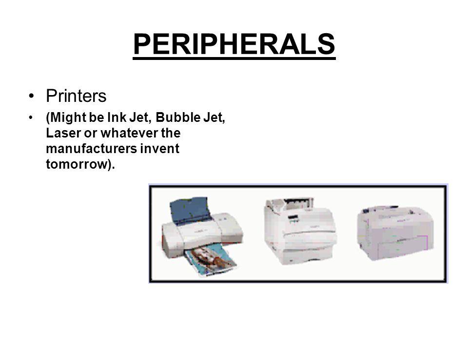PERIPHERALS Monitors CRT Vs LCD