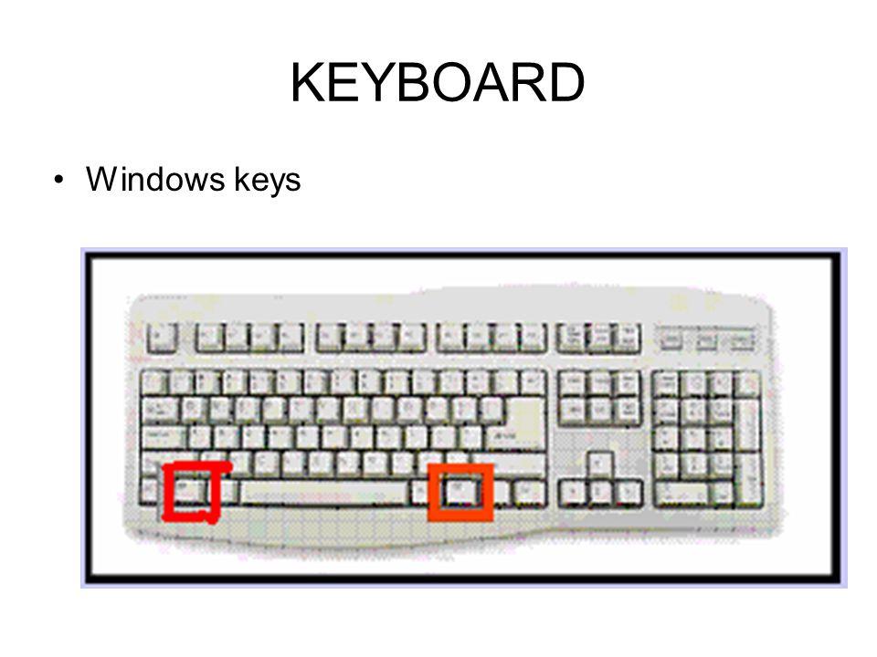 KEYBOARD State keys: Caps, Scroll, Numlock