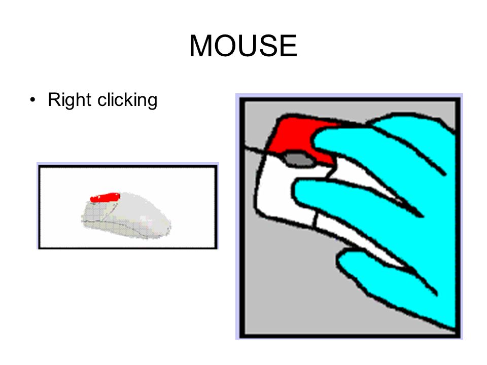 MOUSE Left Clicking