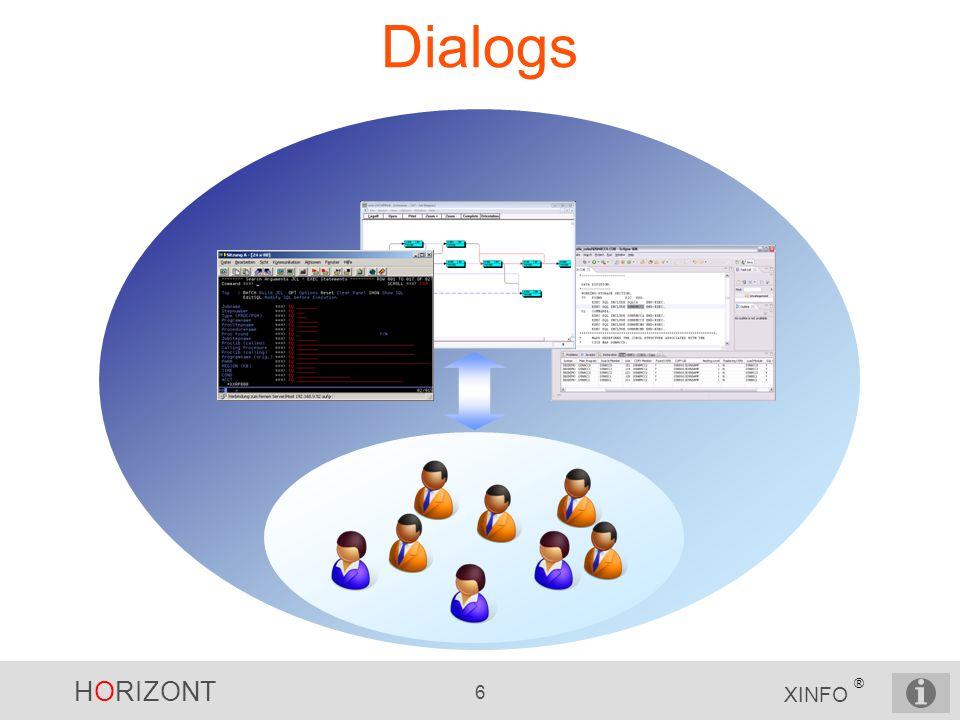 HORIZONT 6 XINFO ® Dialogs