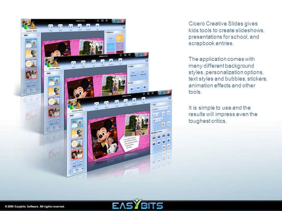 © 2009 Easybits Software. All rights reserved.