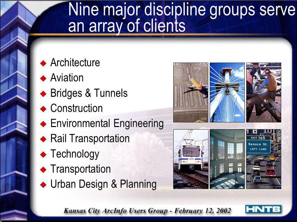 Our Typical Clients u Departments of Transportation (DOTs) u Turnpike Authorities u Metropolitan Planning Organizations u Airports u Rail Agencies u Local Governments