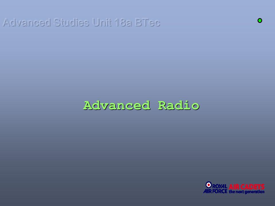 Advanced Radio